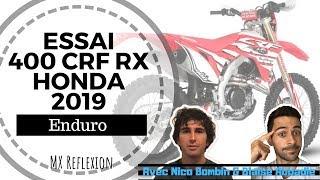 Download Video Essai enduro avec la 400 CRF RX Honda 2019 MP3 3GP MP4