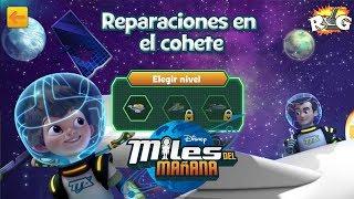 Miles del Mañana | Reparación en el Cohete | Disney Junior