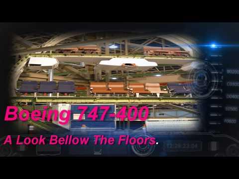 747 below the floor