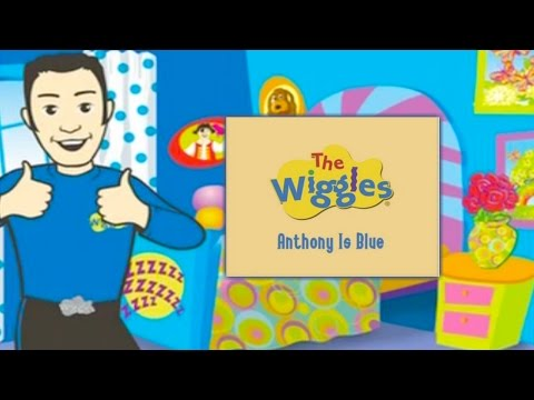 The Wiggles - Anthony Is Blue Storybook