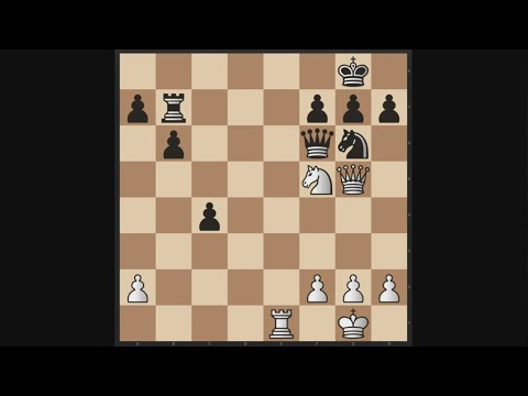 Chess Tactic of the Day [19] | Alekhine - Freeman (1925)