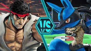 Ryu vs Lucario (Street Fighter vs Pokémon) | Smash Bracket | S1E9