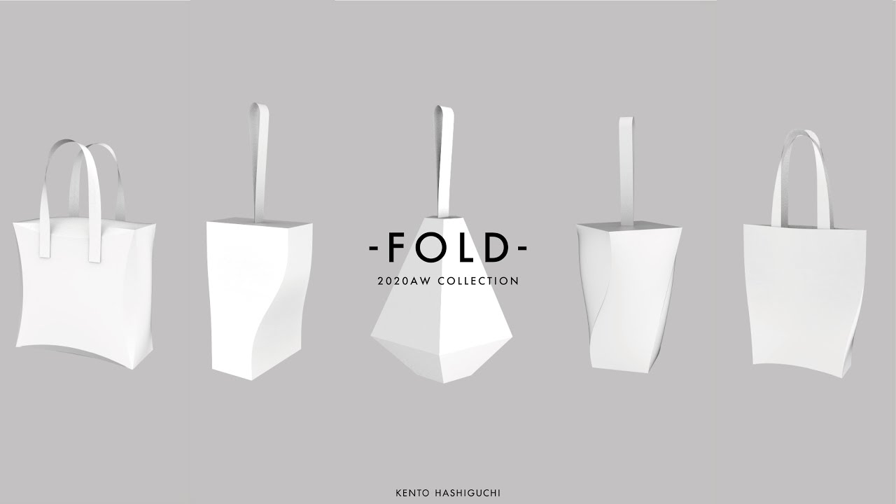 2020AW COLLECTION -FOLD- イメージ動画を公開