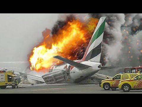 Desperate Escape | Boeing 777 Crash in Dubai | Emirates Airlines Flight 521 | 4K