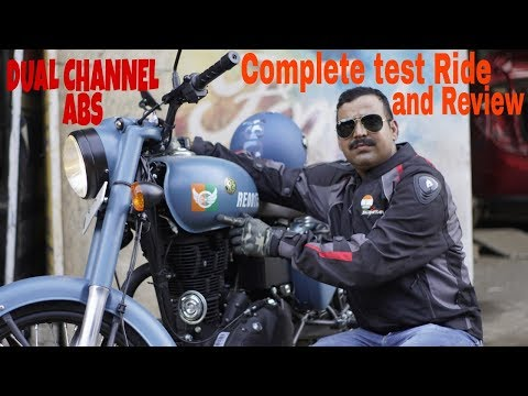 New Royal Enfield Classic ABS Signals 2018 test Ride and Review in Hindi.