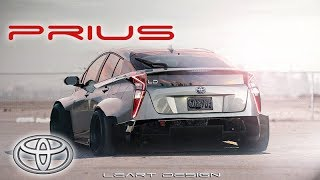 Wide Body Toyota Prius [Time Attack] Virtual Tuning Photoshop