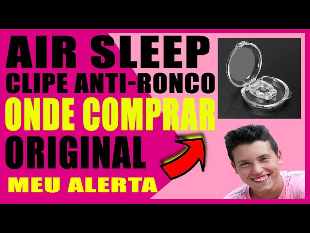air sleep como usar