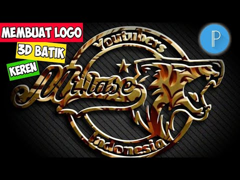 Tutorial Cara Membuat Logo 3d Di Pixellab Youtube
