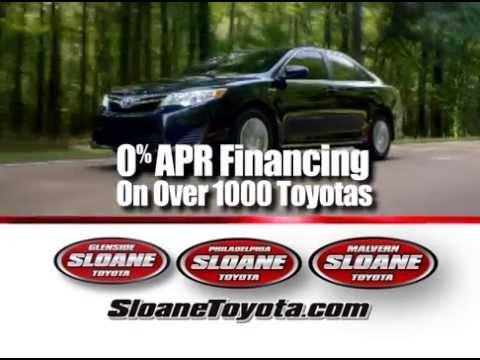 Sloane Toyota Philadelphia  2015 Toyota Camry  YouTube