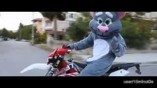 My Talking Tom is Riding Motocross Full Episode for Kids/Child