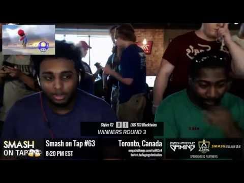 SOT #63 - Styles X2 (Megaman) vs LGS Blacktwins (Mario) - SSB4 WR3