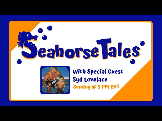 Seahorse Tales with Special Guest Syd Lovelace of LA Surf & Swim