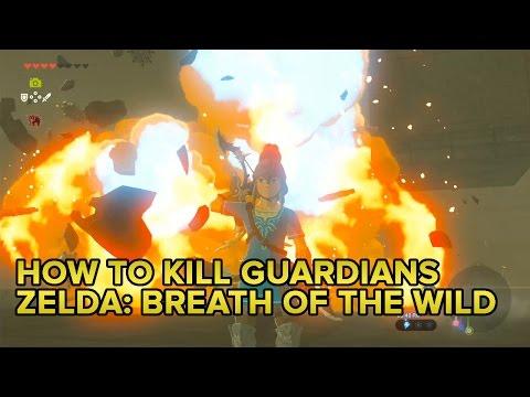 Zelda: Breath of the Wild tips: How to kill Guardians, climb