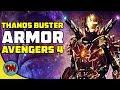 Tony Stark's Thanos Buster Armor in Avengers 4 | Explained in Hindi