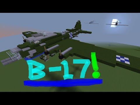 Minecraft Tutorial: B-17 Flying Fortress
