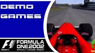 Formula One 2002 - Demo Playthrough (PS2)