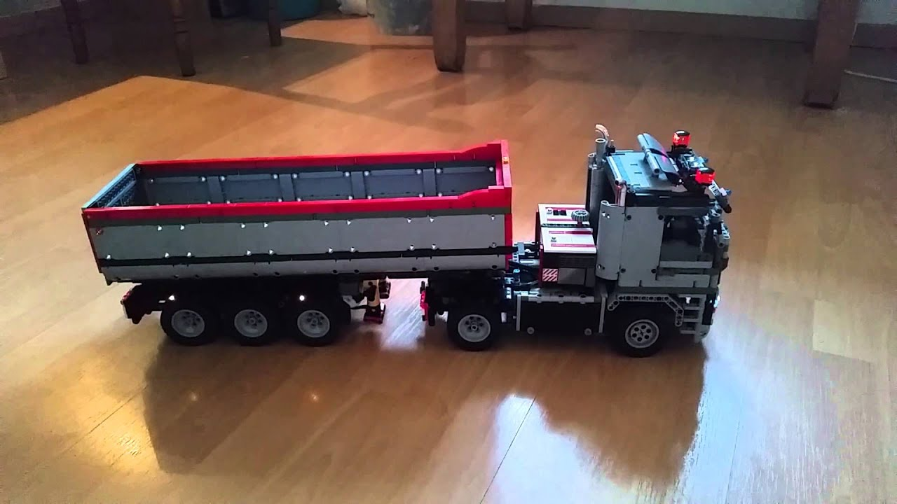 Favori Lego Technic Full Truck - YouTube OF38