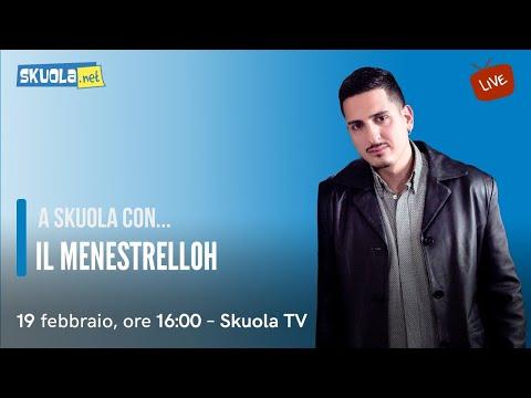 A Skuola con... il Menestrelloh
