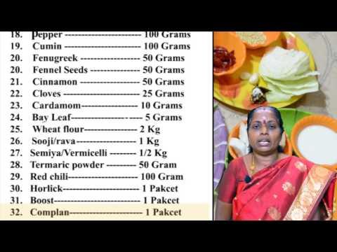 Grocery List | Maligai Saman List | Grocery Shopping List | Grocery