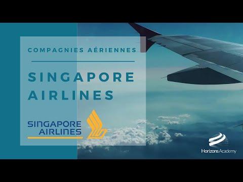 SINGAPORE AIRLINES - L'histoire des compagnies aériennes
