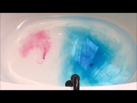 Color My Bath Tablets Review Youtube