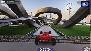 TrackMania Nations Forever Gameplay || Free-to-Play Stunt Racing Game