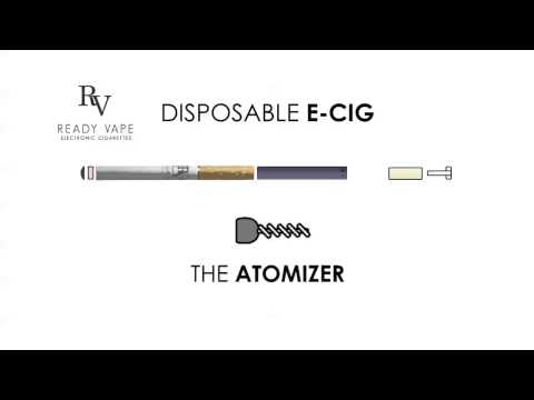 Disposable electronic cigarettes, how do they work and what's inside.