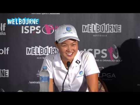 Minjee Lee Friday Press Conference 2014 ISPS HANDA Women's Aus Open