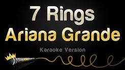 Ariana Grande - 7 Rings (Karaoke Version)