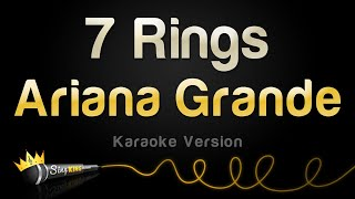 Ariana Grande 7 Rings Karaoke Version