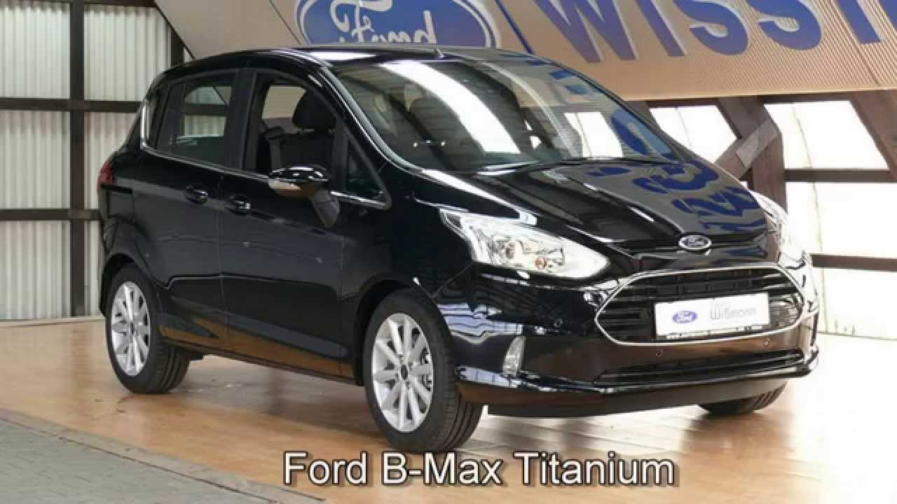 ford b max titanium erjkfk72057 panther schwarz 2015 autohaus wissmann youtube. Black Bedroom Furniture Sets. Home Design Ideas