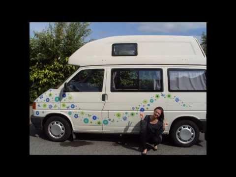 Hippy Motors Unique Car Stickers Camper Van Decals Window - Unique car decals