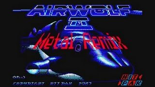 Airwolf 2 - Original Soundtrack guitar cover, Metal version (Spyk