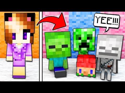 MAESTRA ANNA A SCUOLA DEI MOSTRI! - Casa di Minecraft #4