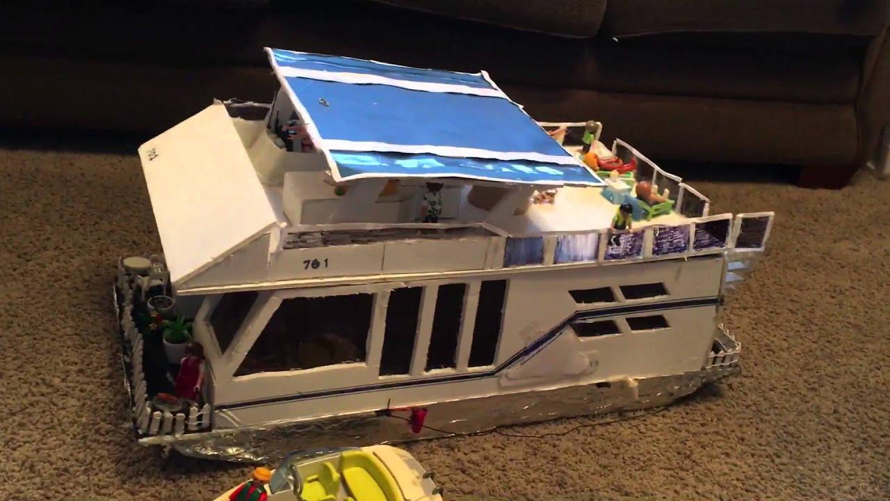 Make house boat model
