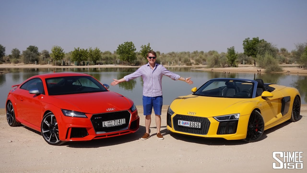 Audi gave me two cars in dubai garage youtube for Garage audi hainaut