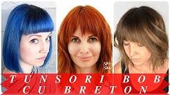 Tunsori Bob Scurt Cu Breton