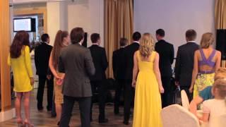 #свадьбанагинских. Свадебное поздравление от друзей