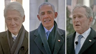 video: Watch: Obama, Bush and Clinton deliver special message to President Biden