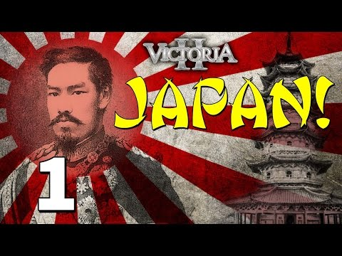 Vic2 Japan [1] The Two Japans - Victoria 2 Heart Of Darkness Gameplay