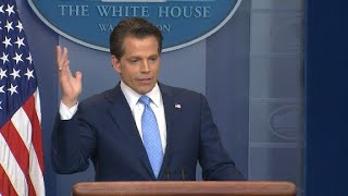 Scaramucci's wild first week in White House
