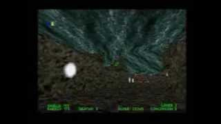Descent Maximum (PS1) Link Cable Co-op Gameplay