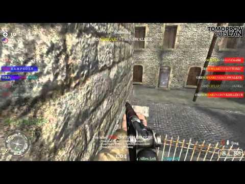 [CoD2] Gunrunners vs WiLD TOMORROWLAN2K15 FINALS (mp_carentan, 1/2)