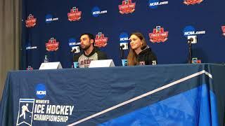 Colgate Hockey's Pre Frozen Four Championship Press Conference