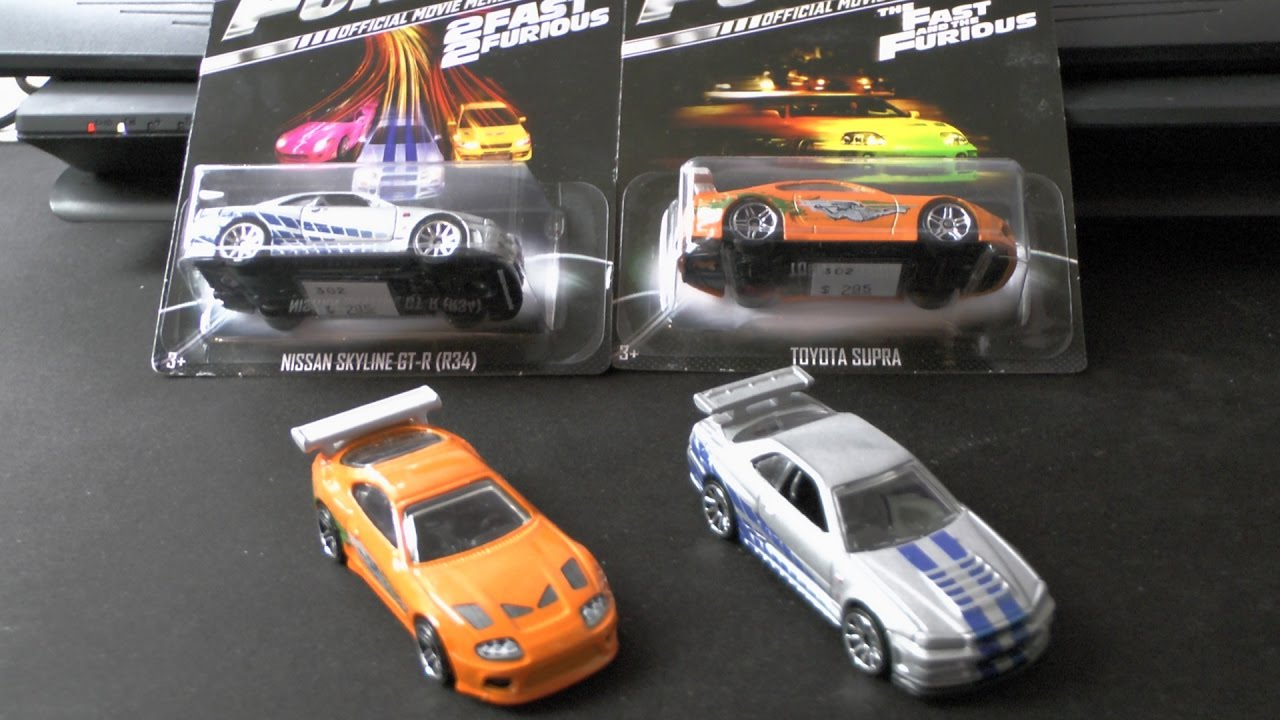 Fast and Furious HotWheels Collectors