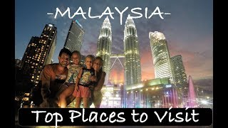 The Best Of Malaysia   Top Places To Visit