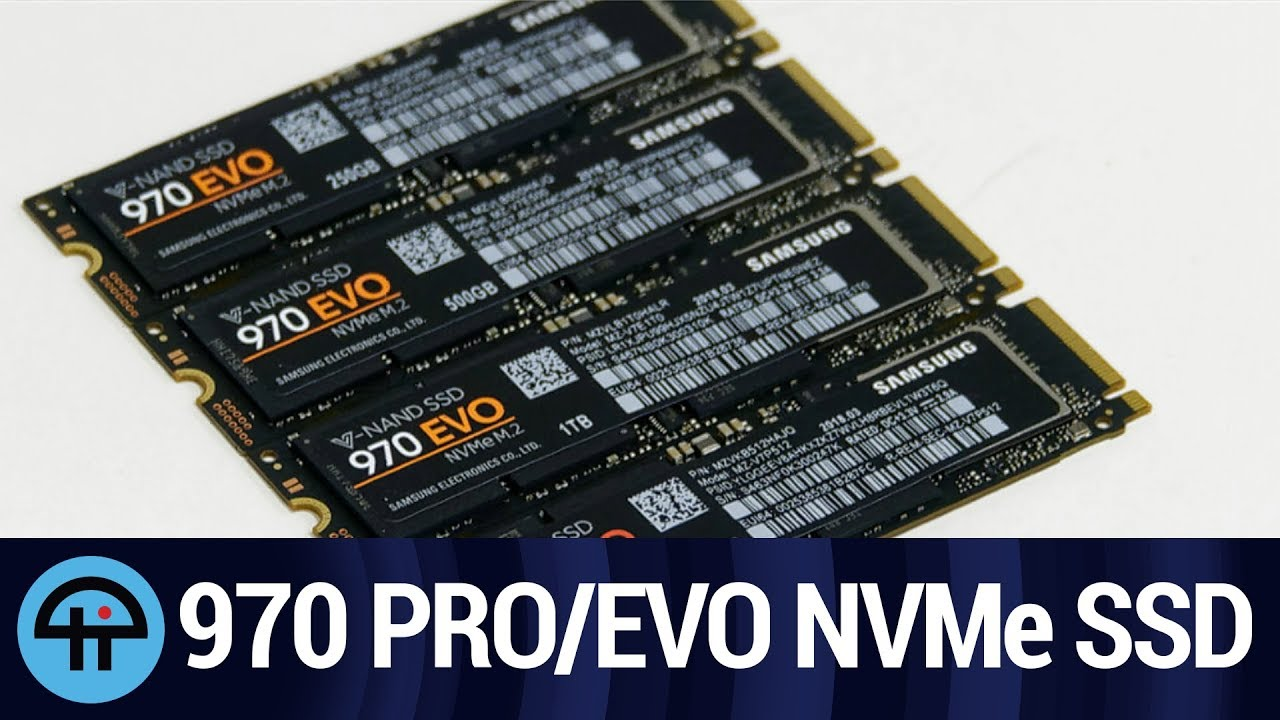 970 Pro 970 Evo The Fastest In Town Youtube