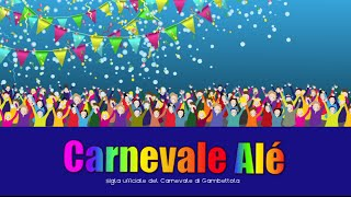 CARNEVALE ALE' - video cartoon - la sigla del tuo Carnevale