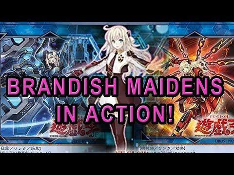 THE NEW BRANDISH MAIDENS IN ACTION! MACHINE WAIFUS