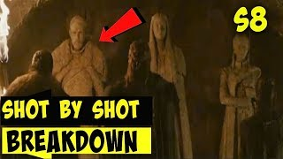 Game of Thrones Season 8  Official Tease Shot By Shot Breakdown Crypts of Winterfell (HBO)